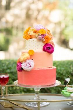 Tort pentru nunta - corai
