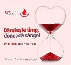daruieste timp doneaza sange