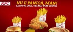 KFC NU E PANICA MAN