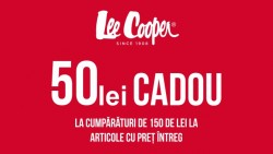 50 lei cadou Lee Cooper