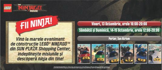 LEGO® NINJAGO™: LEGO®'s Biggest Event!
