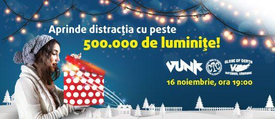 Ai 500.000 de motive să  ajungi pe 16 noiembrie la Sun Plaza!