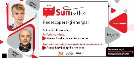 """Sun Talks: """"Redescoperă-ți energia"""""""