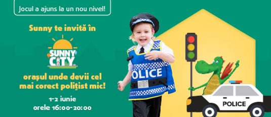 Sunny City: The city where you become a little policeman!