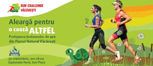 Sun Challenge: Run to protect the turtles in Vacaresti Park!