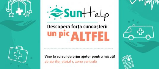 Sun Help – Curs gratuit de prim ajutor pediatric