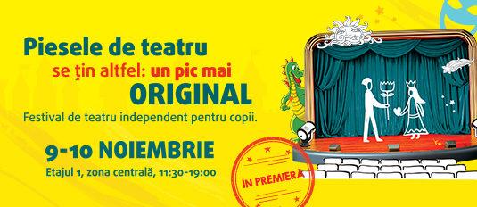 Povești de Festival: Primul festival de teatru independent pentru copii