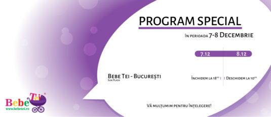 Program redus BEBE TEI