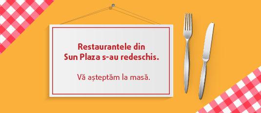 Restaurantele din Sun Plaza s-au redeschis