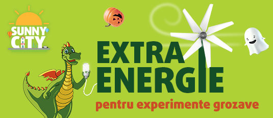 SUNNY CITY: Extra energy for great experiments