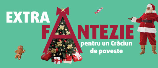 EXTRA fantezie pentru un Crăciun de poveste!